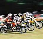 Motocross race in Roggenwil